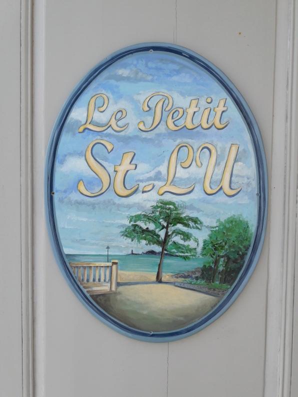 Enseignes pour Le Petit St-Lu (Dinard)
